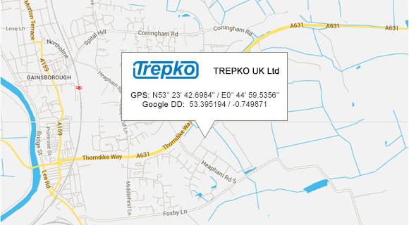 TREPKO UK Limited Google Maps