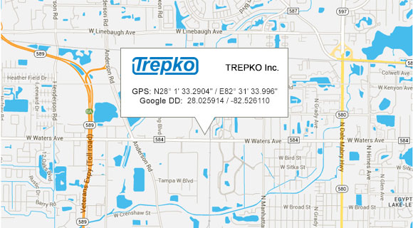 TREPKO INC Google Maps